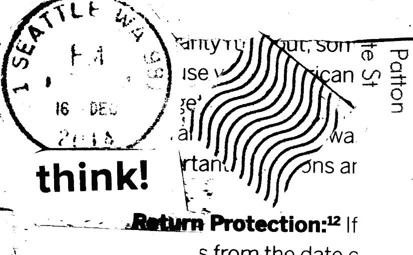 Junk mail bricolage(I)