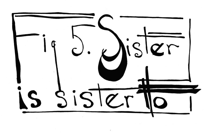 5. Sister is - title
