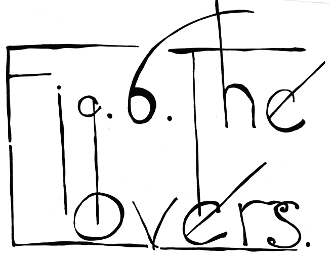 6. The lovers - title