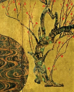 Plum Blossoms - detail