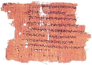 Sappho - Papyrus
